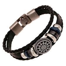 infinity bracelet leather images Ethnic faux leather infinity bracelet trending jewelry jpg