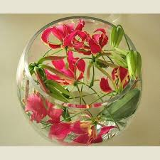Goldfish Bowl Vase 16 Best Wedding Flowers In Goldfish Bowls Images On Pinterest