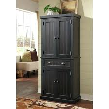 Kitchen Freestanding Pantry Cabinets Black Kitchen Pantry Cabinet Musicalpassion Club
