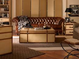 Leather Sofa Cleaner Reviews Stunning Leather Furniture With Brown Accents Color Combined