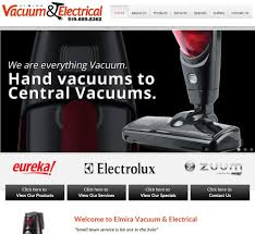 congrats on your new site elmira vacuum u0026 electrical web design
