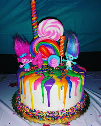 how to make a cake for a girl 44 best troll images on trolls cakes troll party and