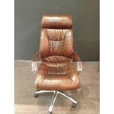 fauteuil de bureau marron fauteuil bureau marron ziloo fr