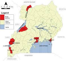 Lake Victoria Map Epidemiology Of Cholera Outbreaks And Socio Economic