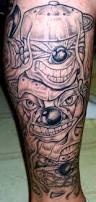 pics photos evil clown tattoo on leg parker pinterest evil