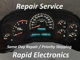 corvette instrument cluster repair instrument cluster repair ebay