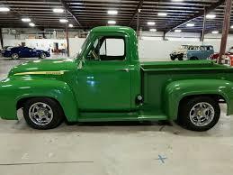 Classic Ford Diesel Truck - 1955 ford f100 jd tribute