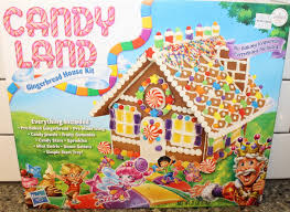candy land gingerbread house kit assembly youtube