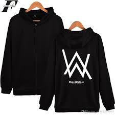 2017 wholesale luckyfridayf alan walker dj hooded sweatshirt