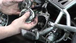 how to remove and replace a clutch on a mini pocket rocket bikes