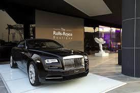 luxury cars rolls royce first rolls royce boutique opens its doors luxuria lifestyle