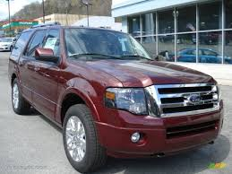 ford expedition red autumn red metallic 2012 ford expedition limited 4x4 exterior