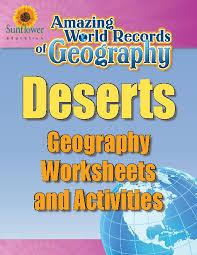 deserts u2014geography worksheets and activities teacherlingo com