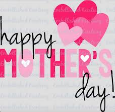 Mother S Day Gift Quotes Happy Mother U0027s Day With Hearts Vinyl Decal Mother U0027s Day Gift Quote