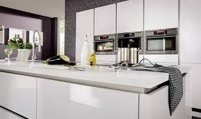 cuisine blanc mat cuisine blanc mat sans poignee 8 design poign e kitchen