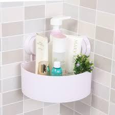 Bathroom Accessories Supplier by Online Shop Bathroom Strength Sucker Corner Storage Shelves Racks