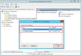 configuration manager 2012 r2 clients using group policy