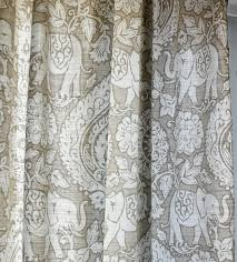amazon window drapes amazon com envogue asian elephant floral medallions scrolls