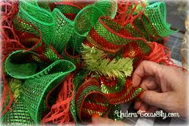 christmas mesh wreaths christmas deco mesh wreath tutorial a sky
