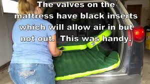 wolfwill universal suv travel air mattress youtube