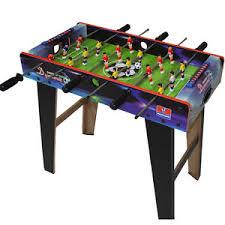 electronic table football game kids table football foosball soccer indoor gaming games play arcade