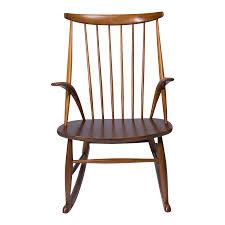 rocking chair by illum wikkelsø chairish