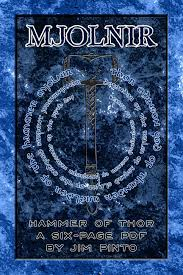 mjolnir hammer of thor viking god of thunder by todd gdula