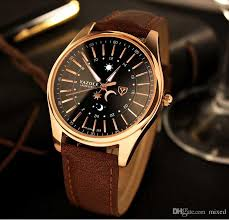 yazole 368 wrist brand luxury sun moon fashion