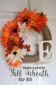 Wreath Diy Diy Fall Wreath With Faux Hydrangeas Super Easy Hydrangea