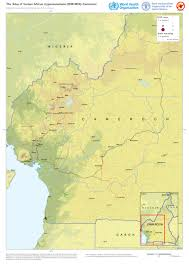 Cameroon Africa Map by Who Mapping The Distribution Of Human African Trypanosomiasis