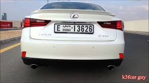 lexus is 250 dubai 2015 lexus is350 exhaust sound 0 100 u0026 acceleration youtube