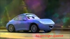 cars sally lightning mcqueen ft sally carrera playing with fire avi youtube