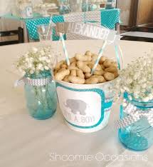 baby shower centerpieces ideas for boys elephant ba shower decorations boy 863 elephant baby shower
