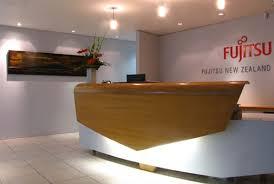 Office Design Interior Reception Area Interior Design Of Fujitsu Office Architecture