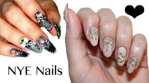 new year u0027s eve nails collab with anna u0027s nail art beauty