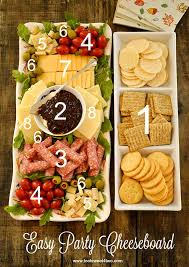 easy party cheeseboard toot sweet 4 two