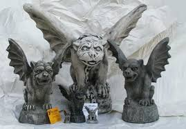 gargoyles statues for the home from the griffin catalog