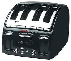 Walmart Toasters T Fal Avante Classic 4 Slice Toaster Black Walmart Com