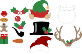 christmas photo booth props free christmas photo booth props svg files bits pieces paper lab