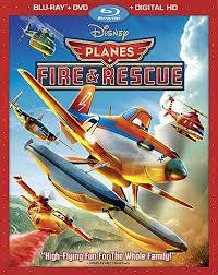 Planes Fire Rescue Blu Ray Bonus Content Movie Dvd Blu