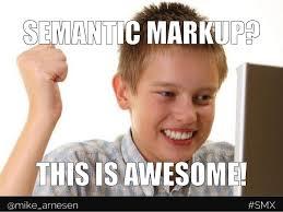 Next Gen Dev Meme - next generation structured data