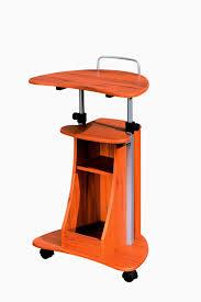 furniture minimalist standing laptop desk with adjustable height