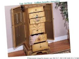 stores that sell jewelry armoire best review top 10 best selling jewelry armoires march 2018