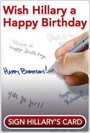 support hillary clinton for president blog happy birthday senator