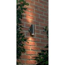 Contemporary Outdoor Lighting Uk El Yg 706 Ss Contemporary Outdoor Spotlight In Stainless Steel
