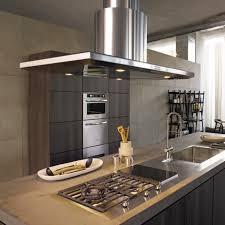 hotte de cuisine centrale moderne lzzy co