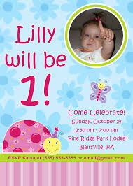 Example Of Invitation Card For Birthday First Birthday Invitation Cards Alesi Info