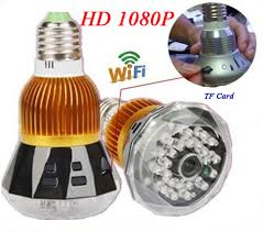 light bulb security system e27 1080p 360 degree fisheye panoramic wifi camera mini camcorder