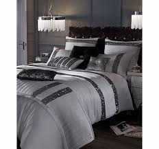 Bhs Duvets Sale Bhs Kylie Minogue Safia Silver Sequin Bedding Range Inspired By