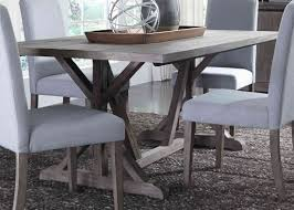 Dining Room Sets Orlando Liberty Carolina Lakes Trestle Table In Weathered Grey Best
